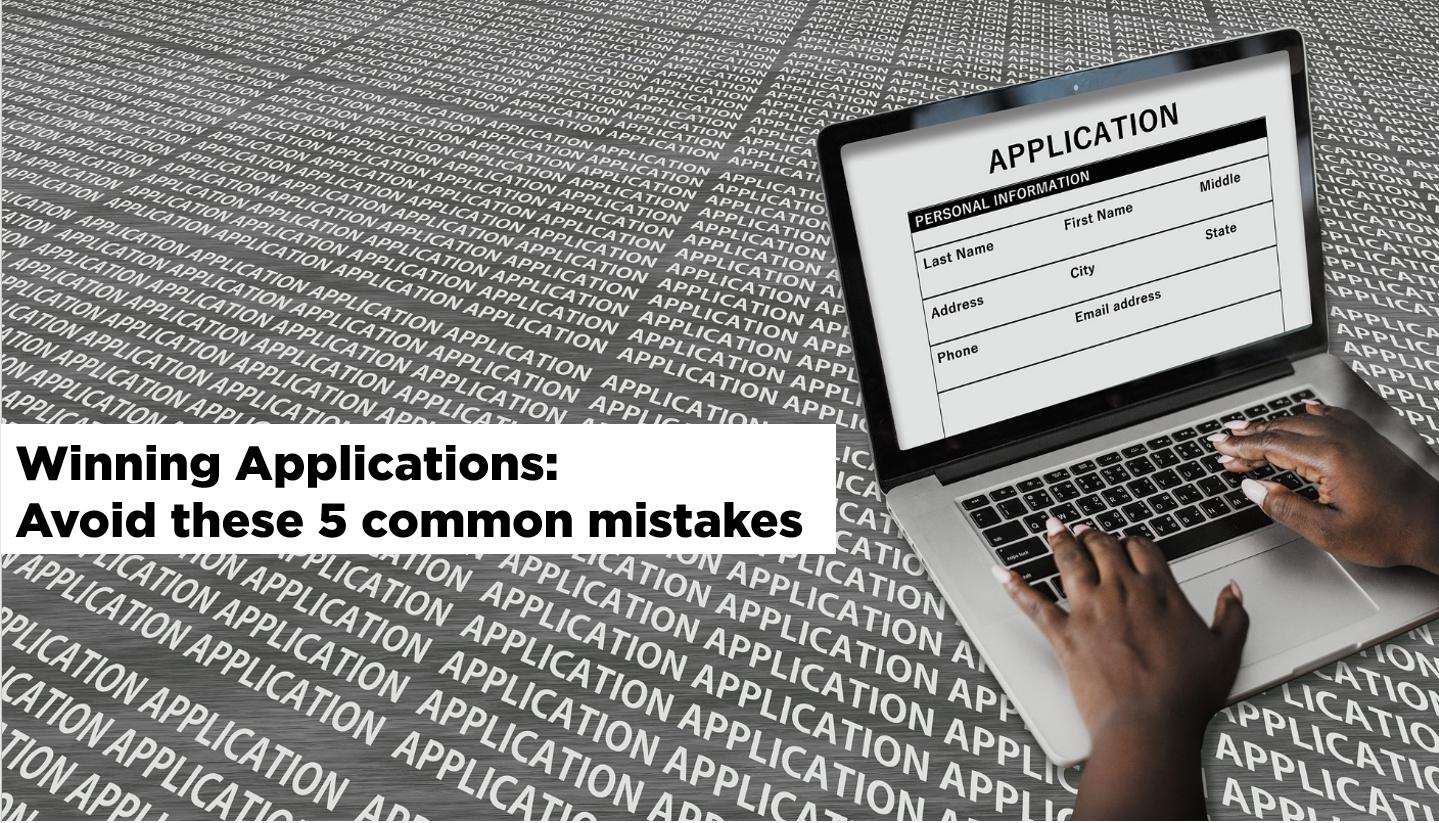 Job application, Job hunt, Common mistakes when applying for a job, Winning application