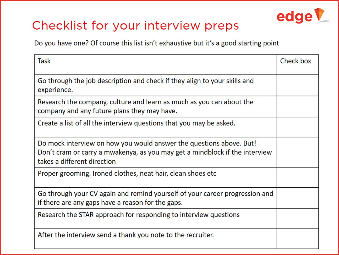 Interviews, How to get ready for interviews, Job search, Job hunting
