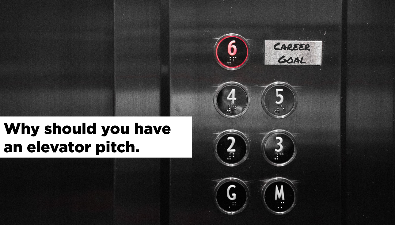 Elevator pitch, Packaging yourself