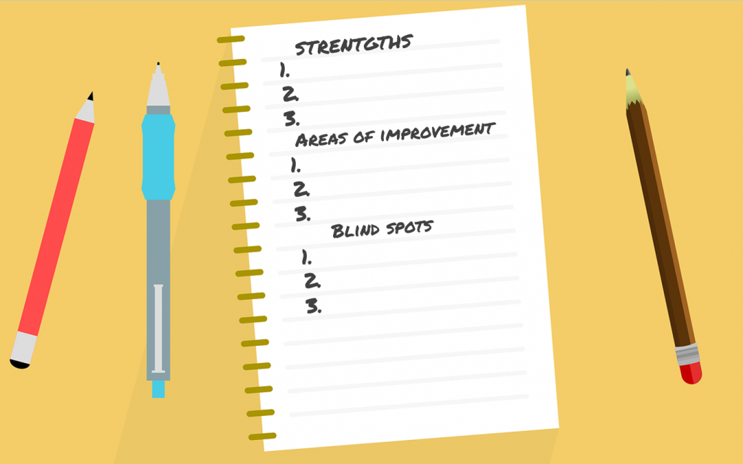 5 easy-peasy steps to uncover your blind spots, both strengths and areas of development.
